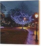 North Yorkshire Lights Wood Print