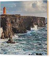 Northern Atlantic Wood Print