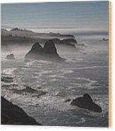 Northern California Wood Print