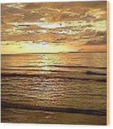 Northern Ireland Sunset Wood Print