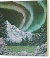 Northern Lights - Alaska Wood Print