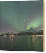 Northern Lights Experience I Wood Print