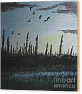 Northern Limit Wood Print