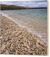 Northern Shores Wood Print