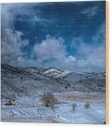 Northern View From Horsetooth Reservoir Wood Print by Harry Strharsky
