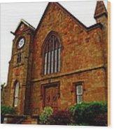 Northford Church Wood Print