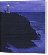 Northhead Ilwaco Lighthouse Wood Print