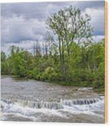 Northrup Road Waterfalls 2158 Wood Print