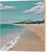 Northshore Oahu  Wood Print by Darice Machel McGuire