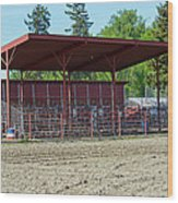 Northwest Rodeo Time Wood Print