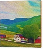 Norway Wood Print