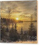 Norway Hedmark Wood Print
