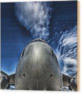 Nose Of A C-17 Wood Print