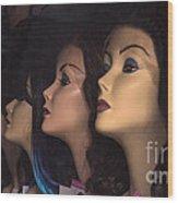 Noses Wood Print