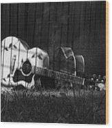 Nostaglia Wood Print