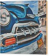 Nostalgia Road Wood Print