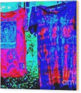 Not Fade Away - Tie Dye Wood Print