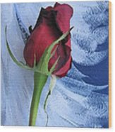 Not Just Another Rose Photograph Art Wood Print