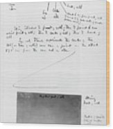 Notes On Flight Experiments At Baddeck Wood Print