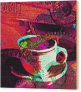 Nothing Like A Hot Cuppa Joe In The Morning To Get The Old Wheels Turning 20130718m43 Wood Print