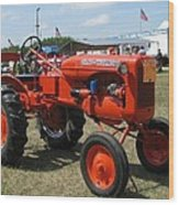 Nothing Like A Tractor Show Wood Print by Victoria Sheldon