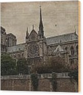 Notre Dame Cathedral - Paris Wood Print
