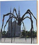 Notre-dame Cathedral Basilica I - Ottawa Wood Print