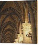 Notre Dame Paris France 2 Wood Print