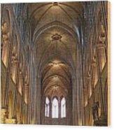 Notre Dame Paris France 3 Wood Print