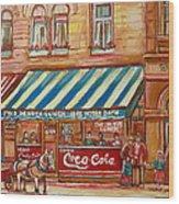 Notredame Circa 1940 Wood Print
