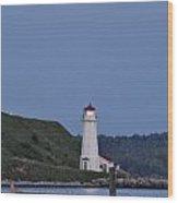 Nova Scotia Lighthouse Wood Print