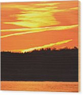 November 11 Sunrise 2014  Wood Print