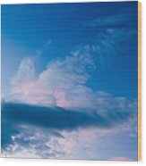 November Clouds 005 Wood Print