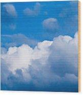 November Clouds 007 Wood Print