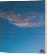 November Clouds 008 Wood Print