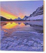 November Freeze 2 Wood Print
