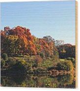 November Morning Wood Print