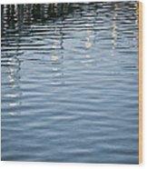 November Piers Wood Print