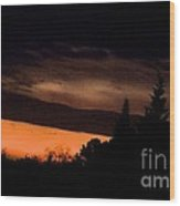 November's Breaking Dawn Wood Print