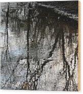 November's Rippled Reflections Wood Print