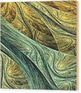 Nowhere Wood Print by Lourry Legarde