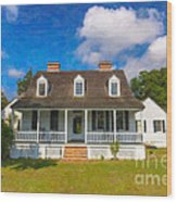 Nps Historic Site Wood Print
