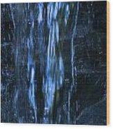 Nu Blue Wood Print