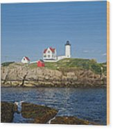 Nubble In The Day 20x30 Wood Print