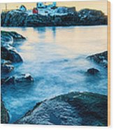 Nubble Light Wood Print by Thomas Schoeller