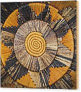 Nubian Basket Wood Print