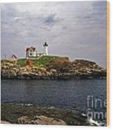 Nuble Lighthouse Wood Print