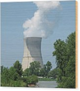 Nuclear Energy And Environment Wood Print