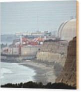 Nuclear Generating Station Wood Print