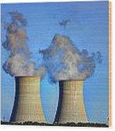 Nuclear Hdr2 Wood Print